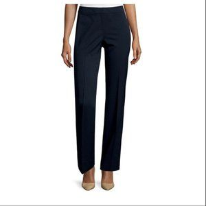 Lafayette 148 tapered slim navy blue pants 6P